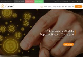 Bit Money – Premium Responsive Bitcoin Cryptocurrency HTML5 Template