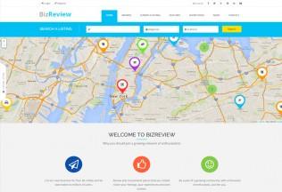 BizReview – Premium Responsive Directory Listing Drupal Theme