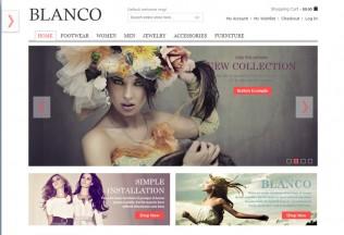 Blanco – Premium Responsive Fluid Magento Theme