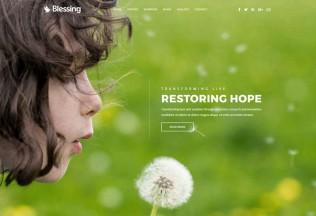 Blessing – Premium Responsive Church WordPress Theme