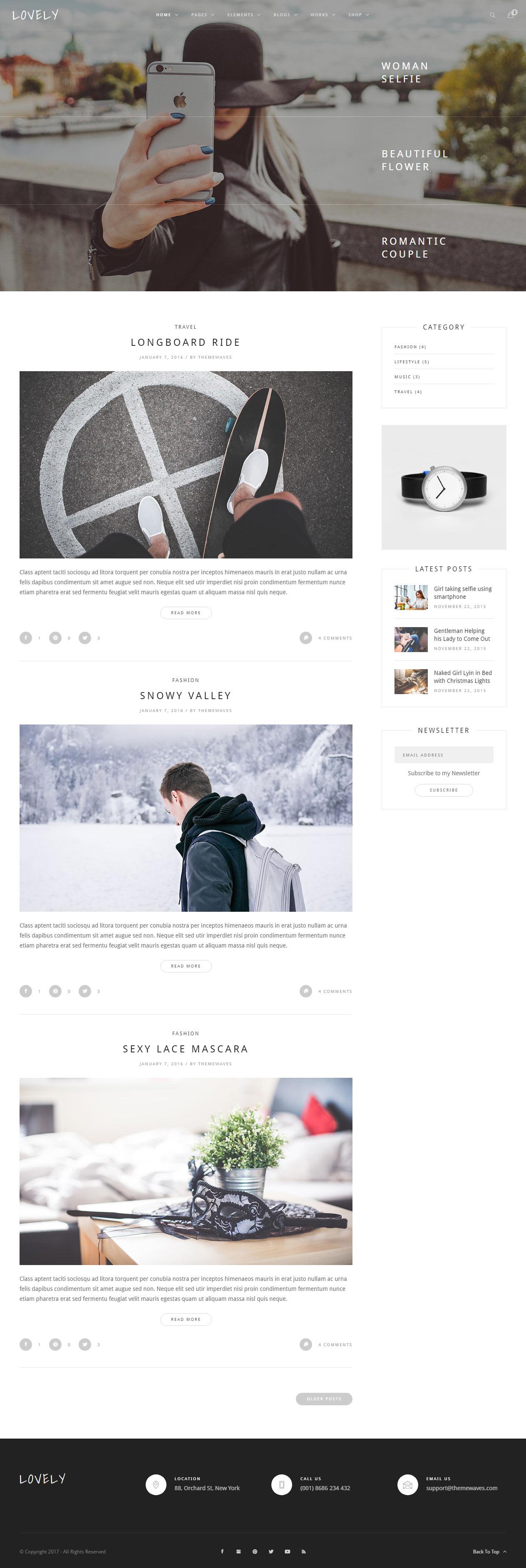 Schön Html Blog Vorlagen Fotos - Beispiel Business Lebenslauf Ideen ...