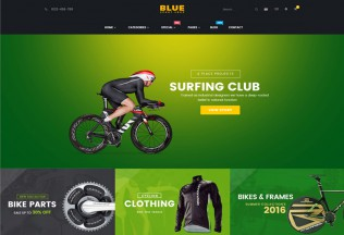 BlueSport – Premium Responsive Prestashop Theme for Sport Store