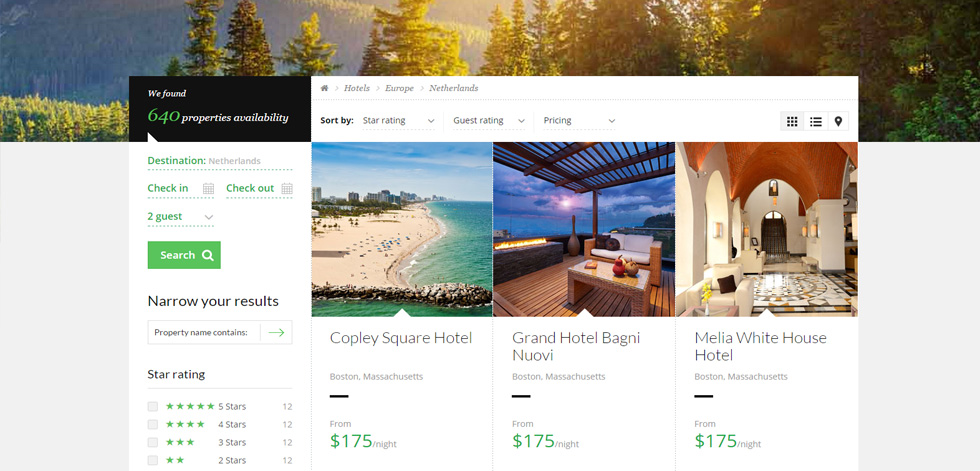 Book Awesome Trip Premium Responsive Booking Html5 Template
