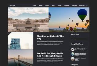 Boston – Premium Responsive Urban WordPress Blog Theme