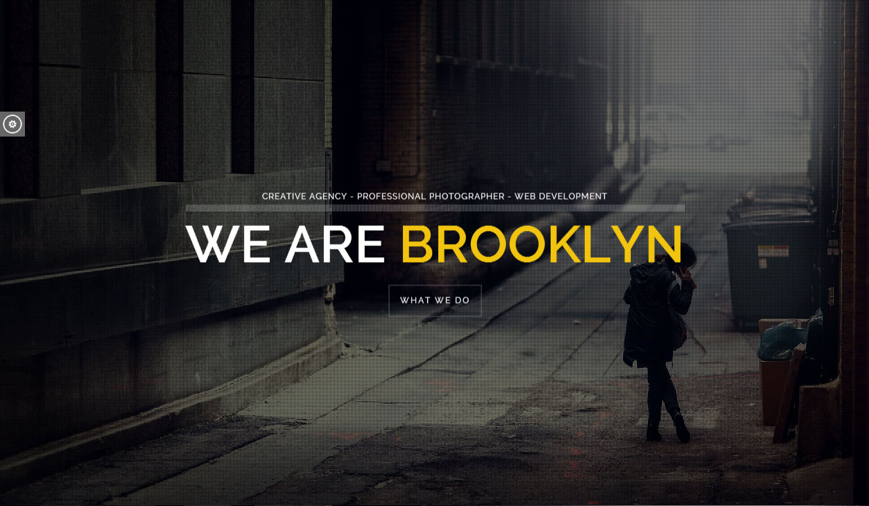 Brooklyn - Responsive Parallax HTML5 Template - ThemeForest Free Demo