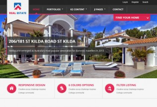BT Real Estate – Joomla Premium Responsive Theme