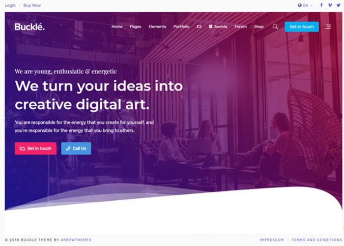 Buckle – Premium Responsive Multi-Concept Joomla Template