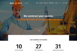 Builogicy – Premium Responsive Construction WordPress Theme