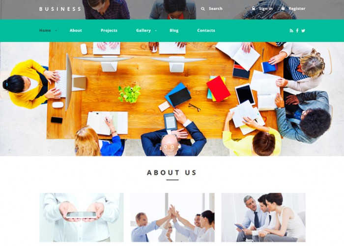 Business Agency – Premium Responsive Drupal Template