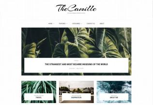 Camille – Premium Responsive Magazine WordPress Theme