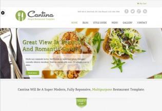 Cantina – Premium Responsive Food & Restaurant Drupal Theme