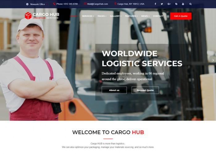 Cargo HUB – Premium Responsive Transportation Logistics HTML5 Template