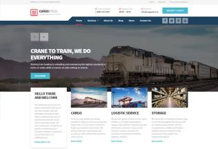 CargoPress – Premium Responsive Logistic, Warehouse and Transport WordPress Theme