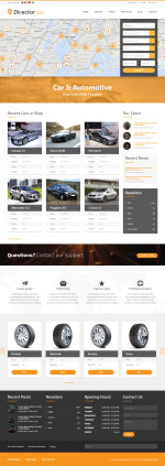 5 Best Responsive HTML5 Cars & Car Dealership Templates 2014