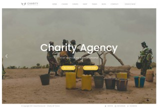 Charity Foundation – Premium Responsive Charity Hub WordPress Theme