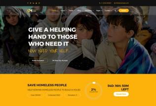 Charity Hope – Premium Responsive Non-Profit & Fundraising WordPress Theme