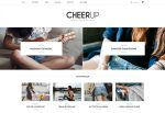CheerUp – Premium Responsive Multi-demo WordPress Blog Theme