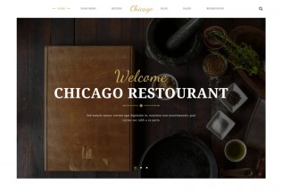 Chicago – Premium Responsive Multi-Purpose Restaurant HTML5 Template