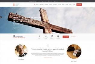 Church and Events – Premium Responsive WordPress Theme