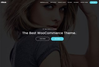 Claue – Premium Responsive Clean Minimal WooCommerce WordPress Theme