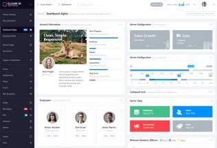 Clean UI – Premium Responsive Admin Angular 2 HTML5 Template