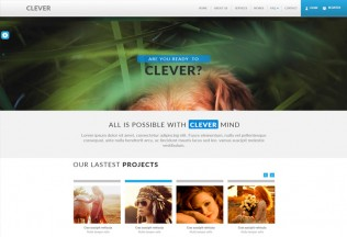 Clever – Premium Muse Template