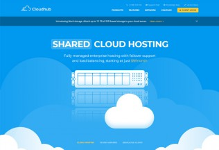 Cloudhub – Premium Responsive Hosting HTML5 Template