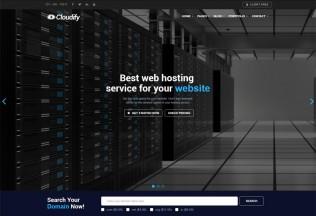 Cloudify – Premium Responsive Web Hosting WordPress Theme