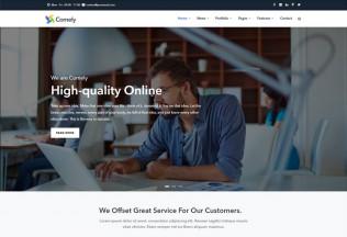 Comely – Premium Responsive Multipurpose Business Drupal 8 Theme