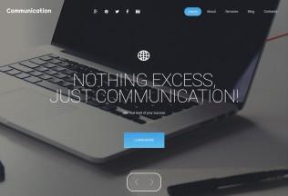 Communication – Premium Responsive WordPress Theme