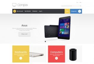 Compex – Premium Responisve Electronic Store Magento Theme