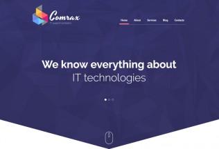 Comrax – Premium Responsive Drupal Template