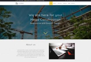 Cons – Premium Responsive Construction & Architecture Muse Template
