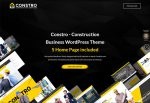 Constro – Premium Responsive Construction Business WordPress Theme