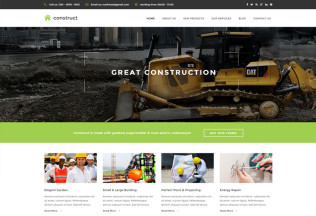 Construct – Premium Responsive Construction & Business Drupal Theme