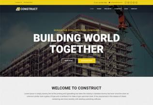 Construct – Premium Responsive Construction Building Company HTML5 Template