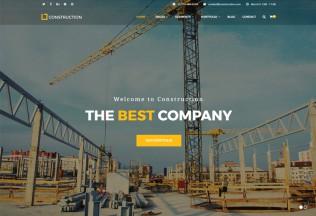 Construction – Premium Responsive Business & Building Company WordPress Theme
