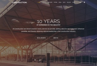 Construction – Premium Responsive Multipurpose HTML5 Template