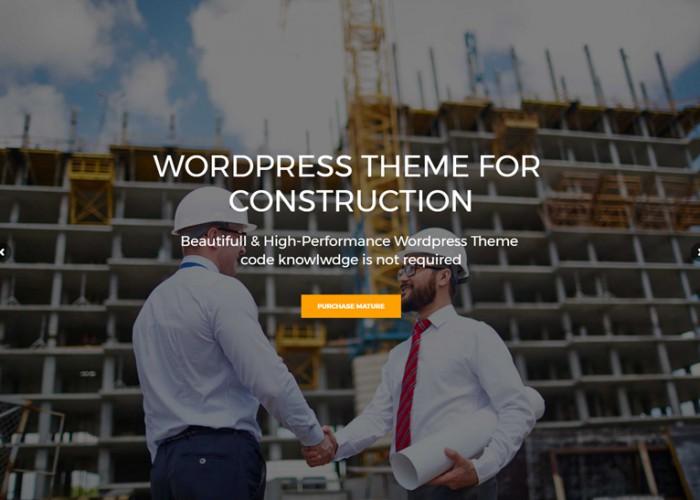 Construction – Premium Responsive Construction Business WordPress Theme