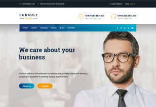 Consult Expert – Premium Responsive Finance WordPress Theme