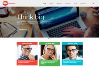 Consulting Co – Premium Responsive WordPress Theme