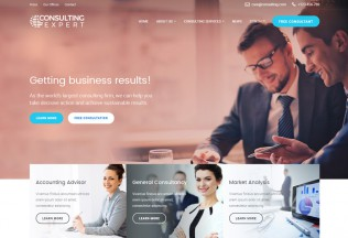 Consulting Expert – Premium Responsive Consulting Business HTML5 Template
