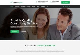 Consultplus – Premium Responsive Business Consulting HTML Template