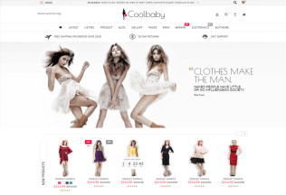 Coolbaby – Premium Responsive Fashion eCommerce HTML5 Template