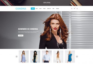 Corona – Premium Responsive Fashion WooCommerce WordPress Theme