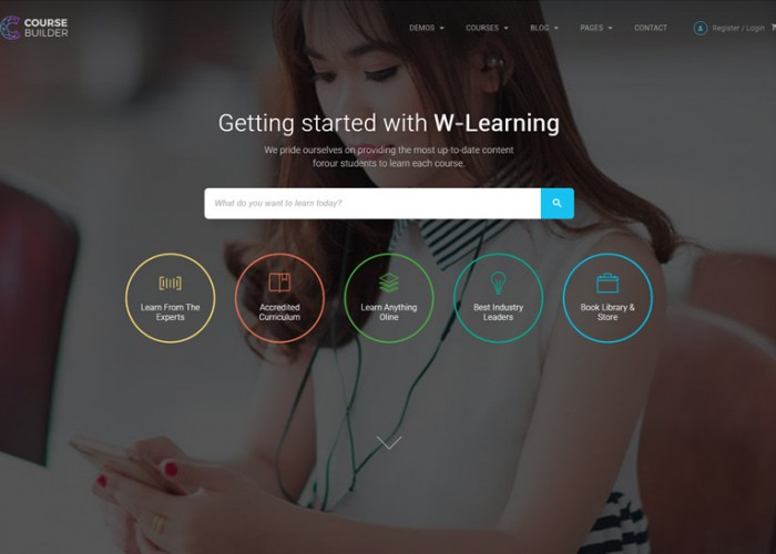 Course Builder – Premium Responsive Learning Management System WordPress Theme