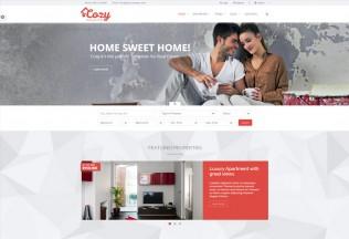 Cozy – Premium Responsive Real Estate HTML5 Template