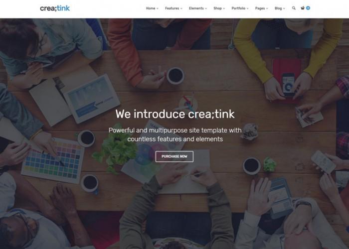 Creatink – Premium Responsive Multi-Concept WordPress Theme