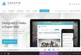 Creatiz – Premium Responsive WordPress Theme