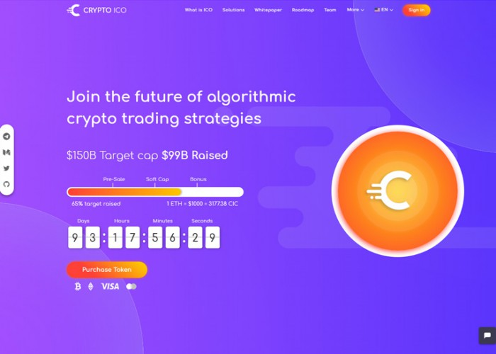 Crypto ICO – Premium Responsive Cryptocurrency HTML5 Template